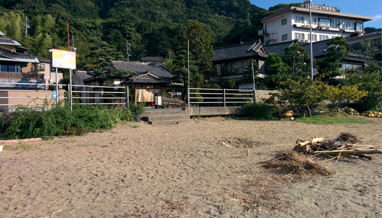 三津海水浴場&安田屋旅館